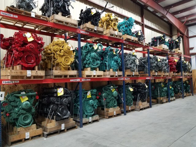 Used and aftermarket heavy duty truck parts in stock