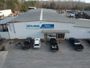 LKQ used semi truck parts store front