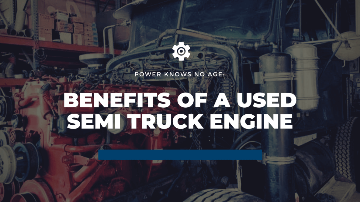 Semi Truck Engine